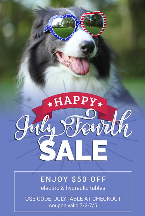 4th of July Table Sale